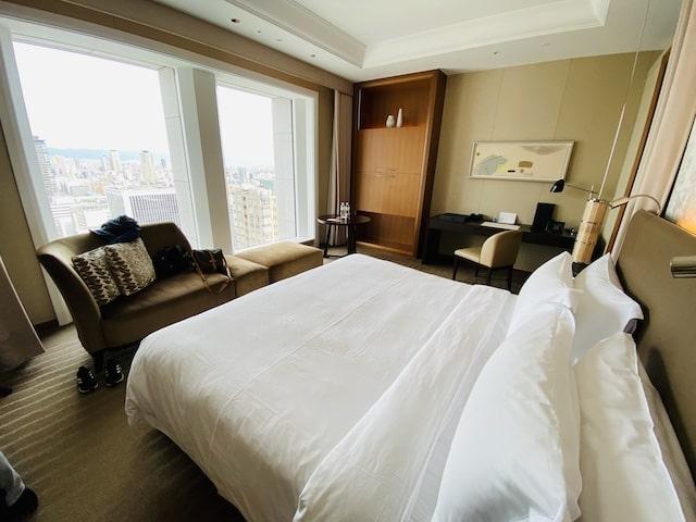 セントレジスホテル大阪のベッドルーム2