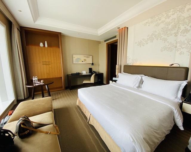 セントレジスホテル大阪のベッドルーム