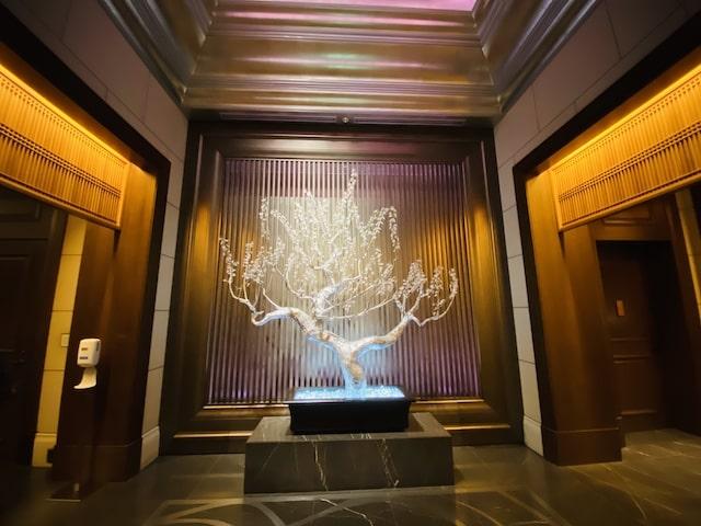 セントレジスホテル大阪のホテルエントランス3