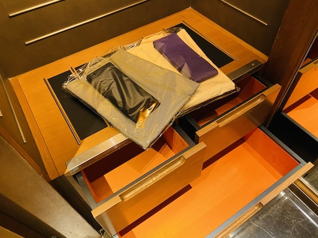 セントレジスホテル大阪の浴衣