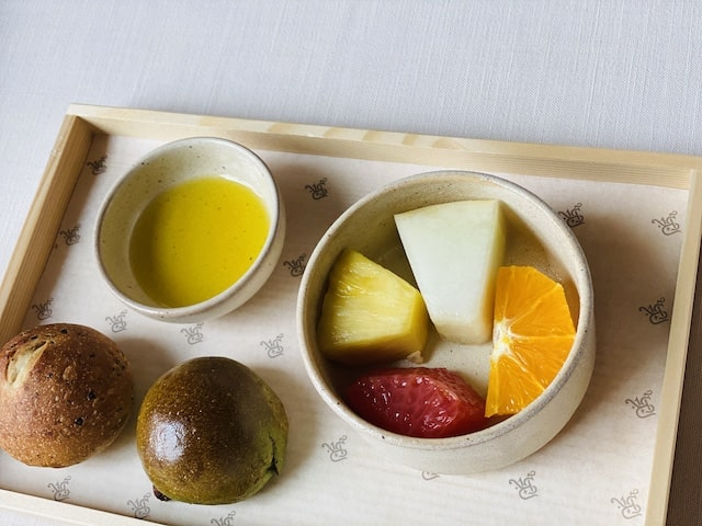 セントレジスホテル大阪の朝食の和食2