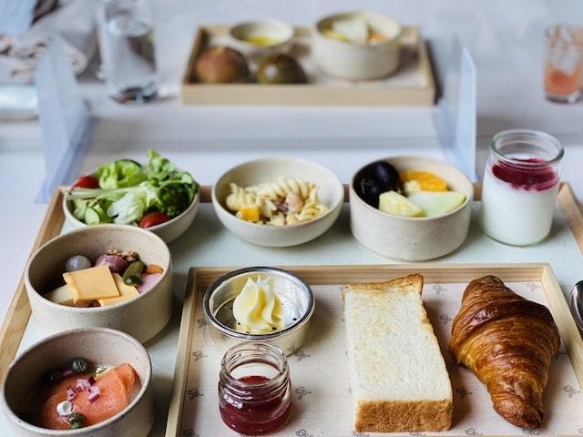 セントレジスホテル大阪の朝食ウエスタン