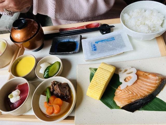 セントレジスホテル大阪の朝食の和食
