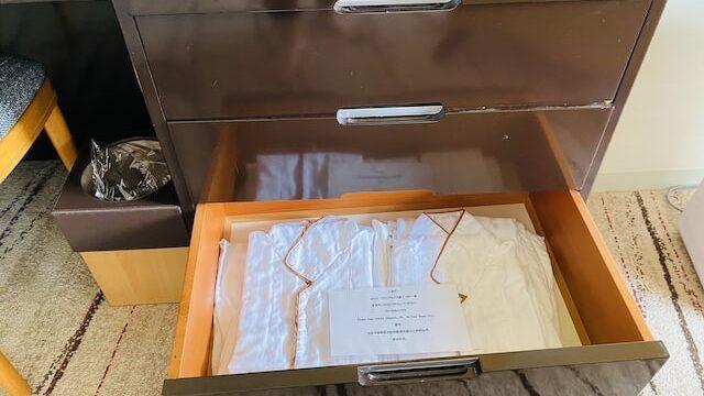 ザプリンス京都宝ヶ池オートグラフコレクションホテルのナイトウエア