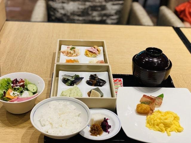ザプリンス京都宝ヶ池オートグラフコレクションホテルのクラブラウンジ朝食メニュー