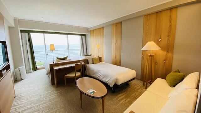 琵琶湖ホテルの部屋