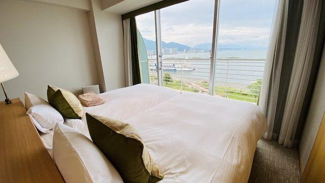 琵琶湖ホテルの部屋3