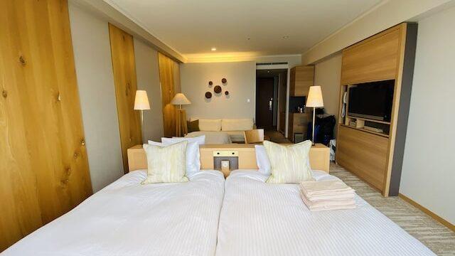 琵琶湖ホテルの部屋2