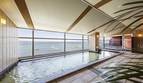 琵琶湖ホテルの大浴場