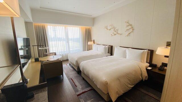 JWマリオットホテル奈良のベッドルーム
