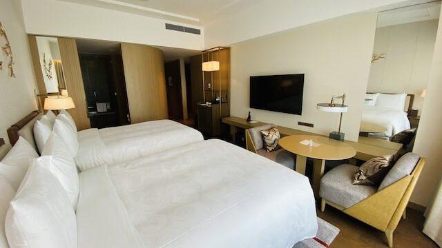 JWマリオットホテル奈良の客室全体