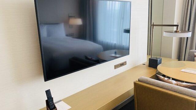 JWマリオットホテル奈良のテレビ