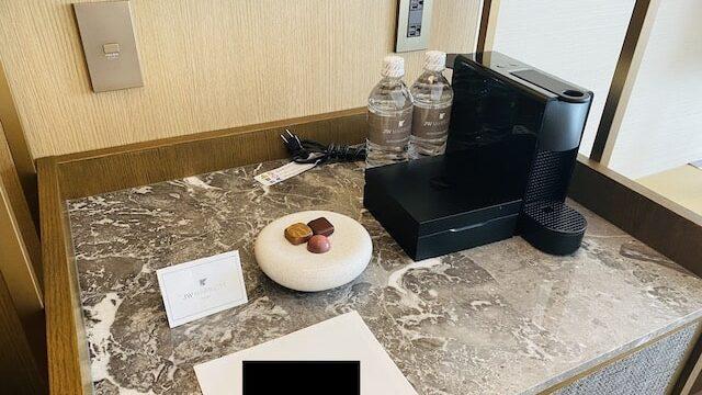 JWマリオットホテル奈良のミニバー