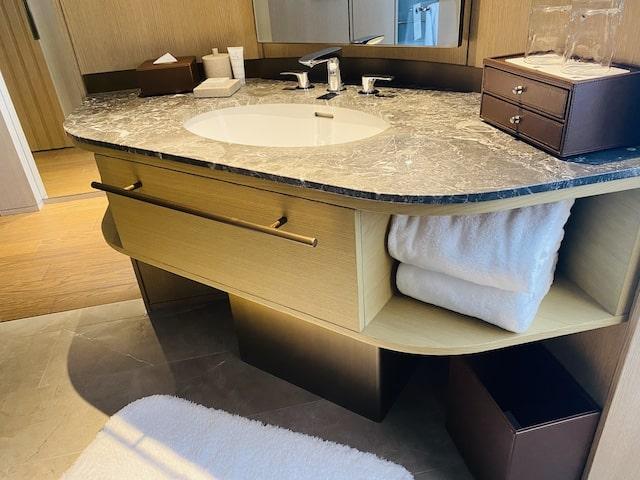 JWマリオットホテル奈良の洗面台