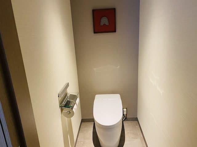 JWマリオットホテル奈良のトイレ