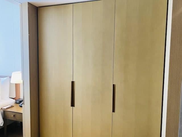 JWマリオットホテル奈良のクローゼット全体