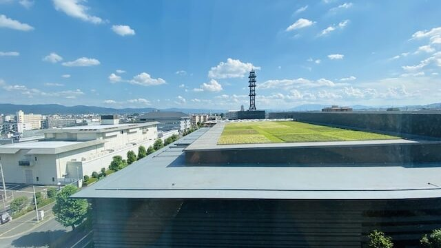 JWマリオットホテル奈良の客室からの景色