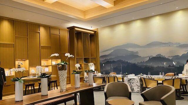 JWマリオットホテル奈良のチェックインカウンター