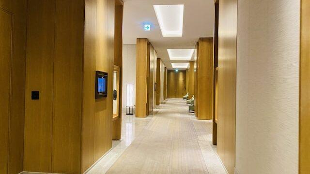 JWマリオットホテル奈良の廊下