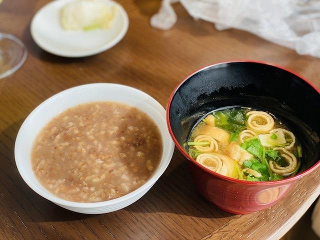 JWマリオットホテル奈良のエグゼクティブラウンジの朝食メニュー2