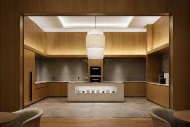 JWマリオットホテル奈良のラウンジキッチン